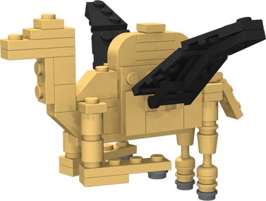 catalyst lego flying camel